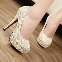 NEW fashion 2015 Free shipping high heel women platform pumps women Tops shoes HOT SALE35