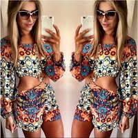 Shorts Feminino Time-limited Real Polyester Playsuit Jumpsuit 2015 Macacao Feminino Women E Macaquinhos Rompers Womens Bodysuit
