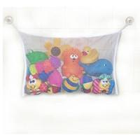 2Pc/Set Cute Baby Bath Time Toy Tidy Storage Suction Cup Bag Mesh Bathroom Organiser Net