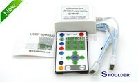 controlador led rgb 25 keys IR Remoter+12V 9 Channel controller LED running strip controller ribbon Led Strip controller