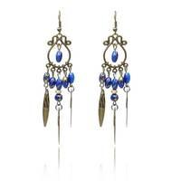 Multicolor Rhinestone Fashion 2015 Designer Long Drop Earrings Luxury Brincos Birthday Gifts Jewelry