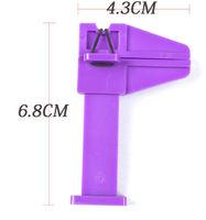 nail art tools nail art products purple color cliper 100pcs/lot