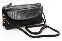 FREE Shipping 2015 new style multifunctional genuine leather shoulder bag clutch bag cowhide messenger bag  wallet purse
