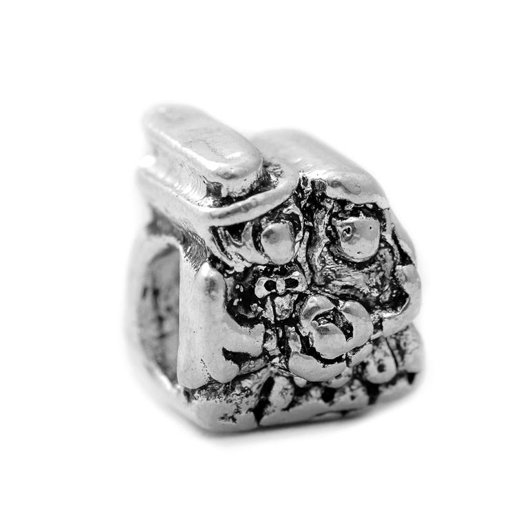 2015 New 925 Silver Bead Lovers Marriage Wedding European Charms Bride Groom Women Snake Chain Charm