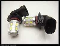 2pcs/lot 9005 hb3 12 SMD 5630 + 1 Cree LED Daytime Running  brake light Fog Light Head Lamp white blue red