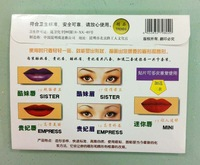 Grooming Shaping Assistant Template Eyebrow & lip  Drawing Card Make-Up Stencil...Repeated use