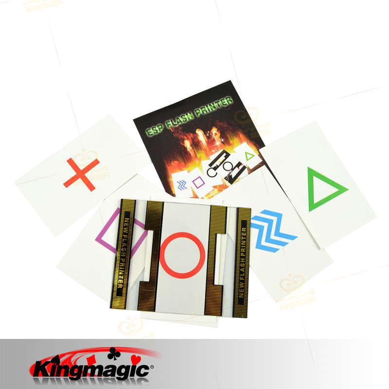 Free shipping ESP Flash Printer magic tricks magic prop card magic(China (Mainland))