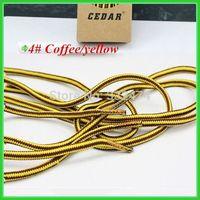 Free shoe buckle climbing shoelace basketball shoe rope lace 2015 new arrival~0.5 diameter sneaker canvas shoe laces