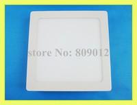 LED panel lamp LED flat light square surface mounted 120X120 6W / 170X170 12W / 225X225 18W square shape New style free shipping