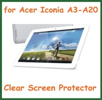 20pcs Ultra Clear Screen Protector Protective Film for Acer Iconia A3-A20 Tablet PC 10.1 inch NO Retail Package Size 250.5*166mm