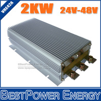 NON-ISOLATED STEP UP DC 24V TO DC 48V 2000W POWER CONVERTER DC-DC BOOST CONVERSOR, 3 YEARS WARRANTY #VRE42A