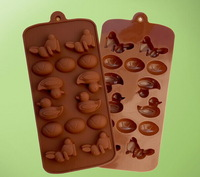 DIY Chocolates Eco-Friendly Food-grade Silicone Cake Mold Originality Convenient New Fashions Creative Trends Animal Cake Tools