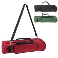 Advanced Plus Soft Cotton Trumpet Bag with Double Zippers Design 3 Colors Optional