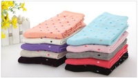 New Arrival Colorful Women Sport Style Business Cotton Sock