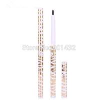 Free shipping  6pcs/lots Professional Makeup Eyeliner Pencil Waterproof Long-lasting Cosmetic Black Eye liner pencil