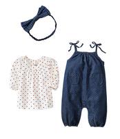 Retail New 2015 baby girls clothing sets children baby summer pajamas child princess clothesvestidos t shirt+pants+headband