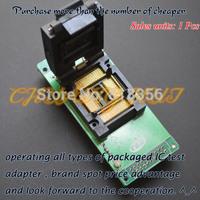 GA-100QFP Programmer Adapter  TQFP100 QFP100 LQFP100 IC51-1004-814-1 test socket