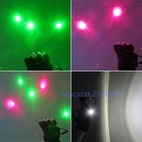 R&G Red Green 200mw 405nm Laser Glove Disco DJ Club Party Stage Show Lighting Gloves