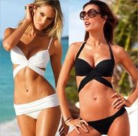 2015 New Women's Clothing Grils swimsuit Swimwears biquini brazilian triangle bikini cheapSplit bikini China free shipping