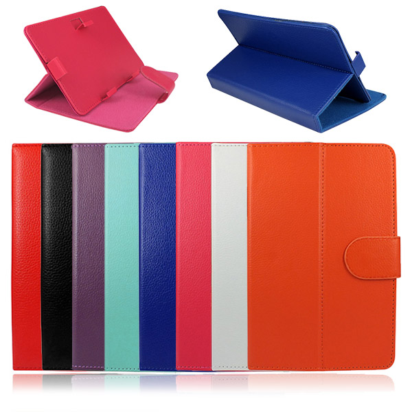 Universal PU Leather Flip Stand Tablet Case Cover for 7 Inch Tab PDA Ebook Reader Multi Colors(China (Mainland))