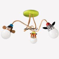 Modern Lovely Kidsplace Zoo  Ceiling Light  Consumer Lighting Animal Chandeliers CL268-3