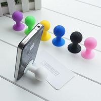 300pcs/lot Rubber Octopus Sucker Ball Stand Holder for iPod iPhone Samsung iPhone,tablet pc,Mobile Phone Acessories