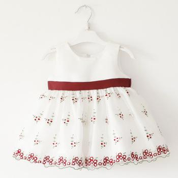 2015 детские платья фея принцесса кружева цветок Vestido девушка костюм ну вечеринку платье хлопок крещение одежда по уходу за детьми одежда