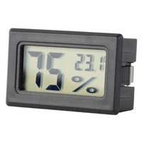 Free shipping!Built In Sensors Embedded Electronic Digital Hygrometer LCD Display TL8015 T0722 P