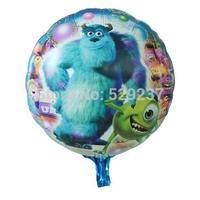 Free Shipping~ 10pcs/lot 18 inch Wholesale Aluminum foil balloon/cute cartoon balloon for children