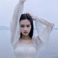 Glass elegant fashion romantic chiffon expansion bottom vintage princess full dress one-piece dress