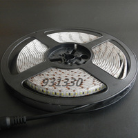 HOT 20 X 5M Super bright White 3014 SMD 204leds/M LED Flex Strip Light Lamp  waterproof DC12V
