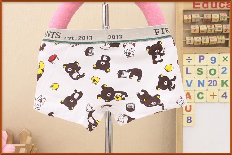 panties boy briefs kids boys bear boxer children underwear pant children's pants wholesale(China (Mainland))