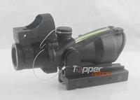 Airsoft Trijicon 4x32 ACOG TA31 Type Cross Scope Riflescope w GL 4x32C2 Real green fiber (with brightness sensitive viewer)