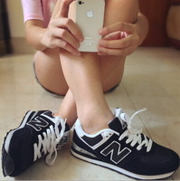 Men's & Women's Fashion Sneakers / flats / sport shoes with large size 36-44 breathable hot selling men shoes and women shoes