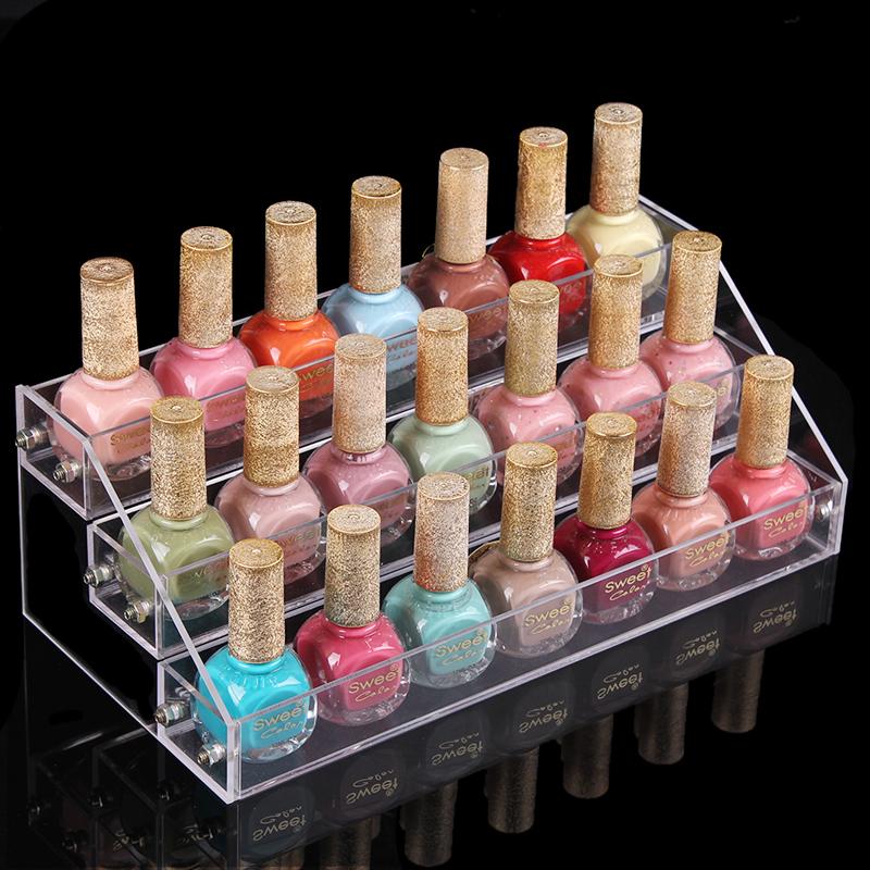 Achetez en gros vernis ongles de stockage en ligne des - Tour de rangement maquillage ...