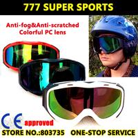 Hot Promotion Skiing Goggles Polarized Snowboard Eyewear Motor Gafas Ski Skateboard Glasses Sport Gear White/Black/Red