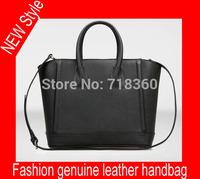 Freeshipping 2015 NEW 100% genuine leather handbags fashion women bag casual leather shoulder bag Messenger bag waterproof bag