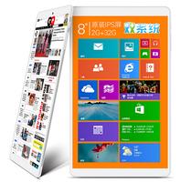 """Teclast X80h Tablet PC Intel Z3735 Quad Core 8.0"""" Windows 8.1 HD IPS 2GB RAm 32GB ROM 2.0MP camera  Silver"""