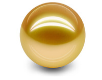 AAA10-11mm Australian south sea gold loose pearl half drilled perfect round