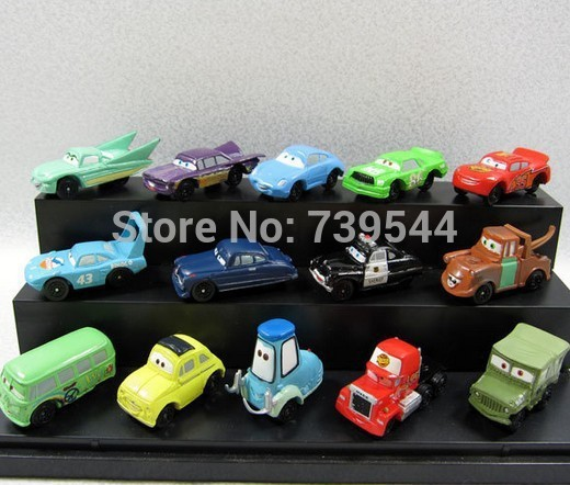 14pcs/set Pixar Cars 2 Figures Modle Full Set Toys For Children Gifts Free Shipping(China (Mainland))