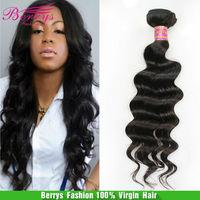 Peruvian virgin hair loose wave 3pcs/lot 12-26 human hair weve soft and thick no tangling no shedding hot selling hair Extension