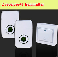 36 tones Wireless doorbell digital Door Chimes 200m distance 2 receiver 1 transmitter 220V 110V smart home free shipping