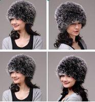 Winter Hat Real Fox Fur Hat Russian Ushanka Cossack Women Beanie HC 010 1
