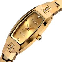 Diamond bracelet watch waterproof tungsten steel quartz watch diamond women's watch female lady