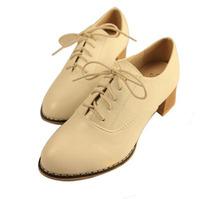 Hot Sale Simple Women Pumps Lace-up Casual Women Shoes Thick Heel School Shoes for Women Drop Shipping 1454