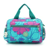 2015 New Hot Fashion Women's Kiple Flower Print Washing Cloth Handbag Portable Shoulder Messenger bag Kippl Female Lesure Bag