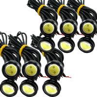10pcs X 9W LED Eagle Eye Light Car Fog DRL Daytime Reverse Backup Parking Signal