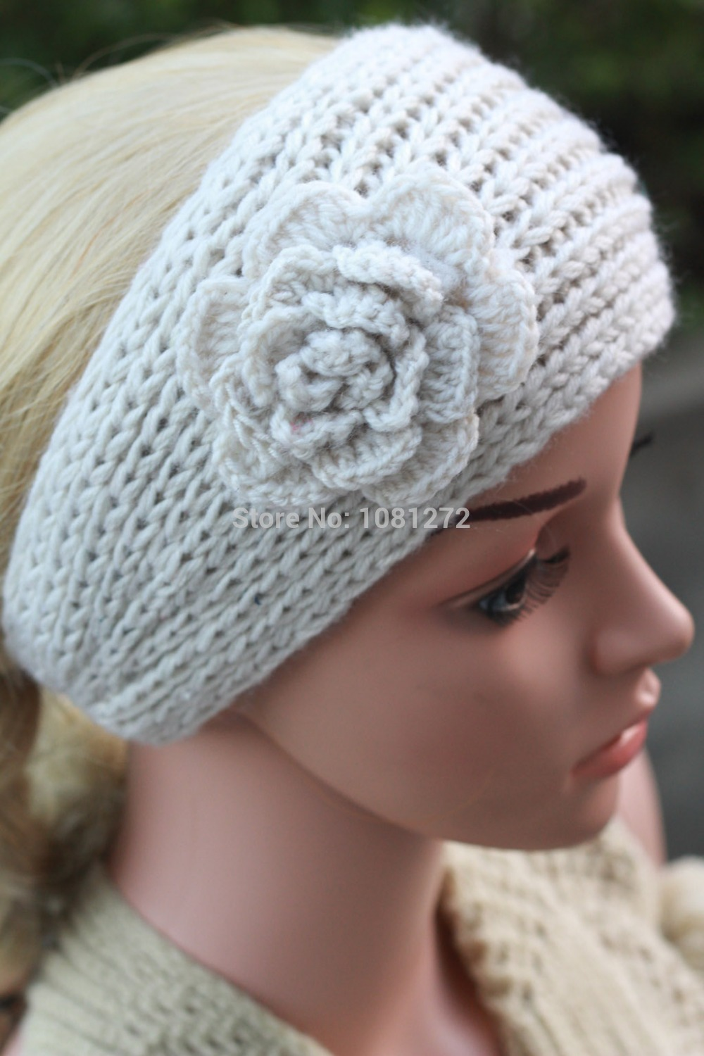 Knitting Pattern For A Headband With Flower : Online Get Cheap Knit Flower Headband Pattern -Aliexpress.com Alibaba Group
