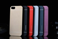 hot sale high quality motomo aluminum  metal hard case for iphone 6 back cover case top fashion luxury phone case 6 colors