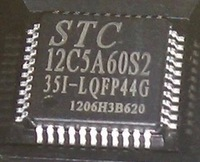 STC12C5A60S2-35I LQFP-44 1 piece also Free Shipping